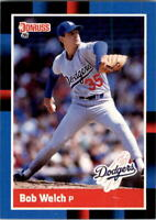 1988 Bob Welch Donruss Baseball Card #253