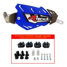 PARAMANI RACETECH FLX ALU BLU + KIT MONTAGGIO (Handguards + Fitting Kit)