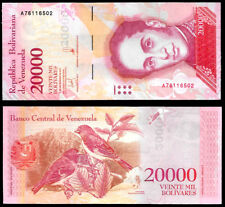 New ListingWorld Paper Money - Venezuela 20000 Bolivares 2017 A8 @ Crisp Unc