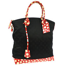 LOUIS VUITTON DOTS LOCKIT VERTICAL MM HAND TOTE BAG KUSAMA M40681 FO2112 O01561d