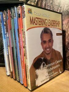 Cesar Millan Mastering Leadership Dog Training 7 DVD Set Whisperer