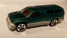 1994 Hot Wheels Green Dodge Ram 1500 Pickup Truck    With Topper