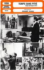 FICHE CINEMA : TEMPS SANS PITIE - Redgrave,Todd,Losey 1956 Time Without Pity