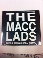 Macc Lads Beer & Sex & Chips n Gravy CD NEW & SEALED Punk