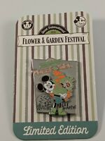 Disney 2020 Flower And Garden Festival Mickey Passholder Limited Edition Pin