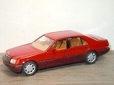 Mercedes 600SEL Saloon - Schabak 1260 Germany 1:43 *32001