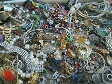 Vintage to Now JUNK DRAWER Estate Jewelry Watch Pins Lot Unsearched Untested