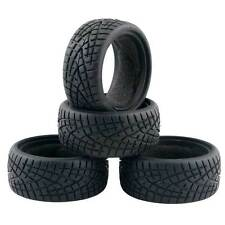 Racing Speed Rubber Tires 8001 Diameter 63mm 4P Fit RC HSP HPI 1:10 On-Road Car