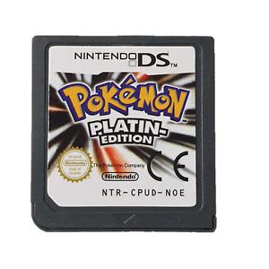 Pokemon Platin / Platinum Edition auf Deutsch für Nintendo DS NDS 3DS Neu