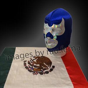 Mexican wrestling mask Santo Blue Demon Stuka Mexicano Cobra Felino #10
