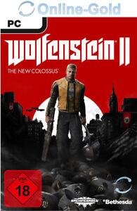 Wolfenstein 2 II The New Colossus - PC Steam Juego Código de descarga - ES