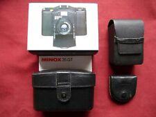 MINOX 35 GT AUSRÜSTUNG - Set - mit Blitz, Taschen, skylight-Filter