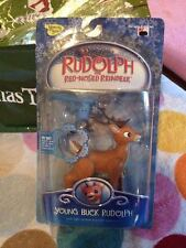Memory Lane Young Buck Rudolph Light Up Nose & Misfit Squirt Jelly Gun Brand New