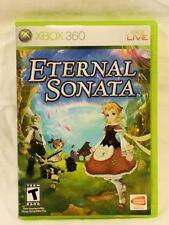 X Box 360 Eternal Sonata Microsoft Xbox 360 2007 Video Game Mint Manual Case CD