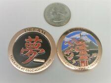 ~ Cachin' In Your Dreams Geocoin BRoKen_W Dream Japan Pagoda Mt Fuji Unactivated