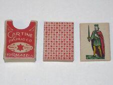 Vintage CARTINE da GIUOCO per Ragazzi MARCA STELLA Cards in Original Box!