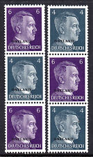 GERMANY 3rd REICH WWII Occupations OSTLAND Hitler O/P 1941 Issue Se-Tenants MNH