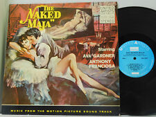 Angelo Lavagnino LP The Naked Maja soundtrack   UA VG++