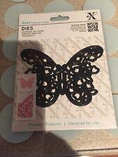 Docrafts Xcut Floral Filigrane Papillon coupe meurt-New Universal Fit