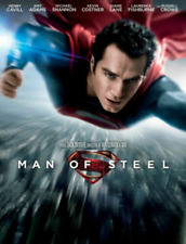 MAN OF STEEL DVD Henry Cavill Amy Adams Russell Crowe Kevin Costner superman NEW