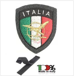 Patch Toppa Scudetto con Velcro Ricamato ITALIA + LOGO ATPI Guardia di Finanza