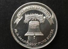 1983 A-Mark Liberty Bell Silver Art Medal A3402