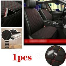 Front Seat Cushion Black Red Car Cushion PU Leather Auto Interior Accessories
