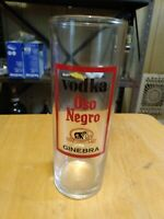 Vintage Oso Negro Vodka Glass.