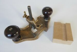 Vintage Bronze Router Plane, with 12mm cutter
