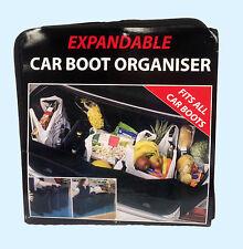 Large Car Boot Organiser - Opens to 1.2 metres long!!
