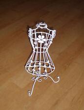 Vintage Jewellery Hanger Holder Stand Metal Necklace Earrings Bracelet