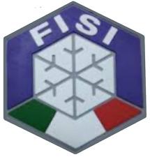 PATCH TOPPA FISI MAESTRO SCI GOMMATA PVC SCUOLA ITALIA solo 10PZ Snowboard 8cm