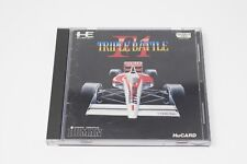 F1 TRIPLE BATTLE PC Engine Hu Card