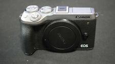 Canon EOS M6 Mark II Mirrorless Digital Camera (Body, Silver) with Dummy Battery