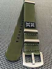 Heavy Duty Nato Style Seat Belt Material Watch Strap 20mm