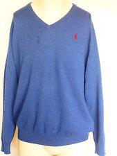 Polo Ralph Lauren Herren Pullover, Rein Merinowolle Pulli Big & Tall  Größe; 1XB