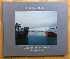 SIGNED True First Olaf Otto Becker Under The Nordic Light With 3 Gallery Cards
