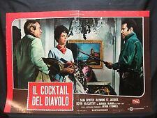 FOTOBUSTA CINEMA - IL COCKTAIL DEL DIAVOLO - DANA WYNTER - 1968 - POLIZIESCO