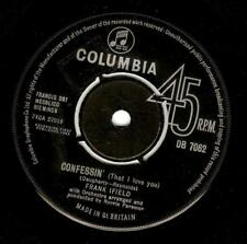 FRANK IFIELD Confessin' (That I Love You) Vinyl 7 Inch Columbia DB 7062 1963