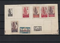 french africa gabon  used stamps on piece  for collectors ref r12278