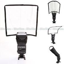 PRO Foldable Reflector Speedlight Snoot /Sealed Beam Tube Flash Softbox Diffuser