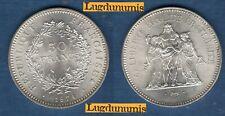 50 Francs Hercule 1974 SUP Argent - V République, 1959 -