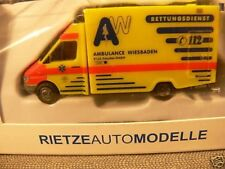 1/87 Rietze MB Sprinter RTW Ambulance Wiesbaden SONDERPREIS 13,99 € statt 20 €