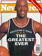 1993 Newsweek Magazine: Michael Jordan Chicago Bulls - The Greatest Ever