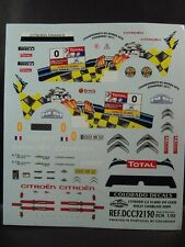 DECALS 1/32 CITROËN C2 S1600 #0 LOEB RALLYE CHABLAIS 2009 - COLORADO  32150