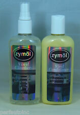 ZYMOL VINYL CLEANER CONDITIONER 8OZ NEW PLASTIC RUBBER BMW PORSCHE AUDI VW MG