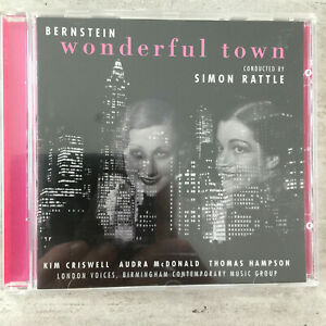 BERNSTEIN: wonderful town - Hampson / Rattle (CD EMI 5 56753 2 Stereo / neu)