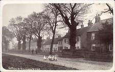 Greenhammerton near Boroughbridge. Street & Geese.