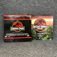Jurassic Park & The Lost World 12� Laserdisc Movies (Lot Of 2) In Euc