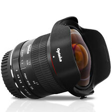 Opteka 6.5mm f/3 HD Aspherical Fisheye Lens Canon EOS EF Mount DSLR Cameras